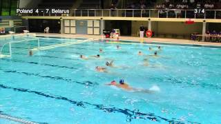 Poland - Belarus, qualifications for European Waterpolo Championship