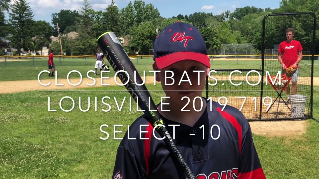 ec05dfd392a Closeoutbats.com Louisville Select 719 2-5 8