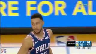 Ben Simmons 13pts 8asts FULL Highlight vs Warriors - Game 12 thumbnail