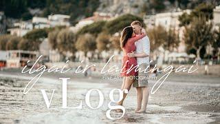Priešvestuvinis vLog'as Amalfio pakrantėje | Vestuvių fotografas
