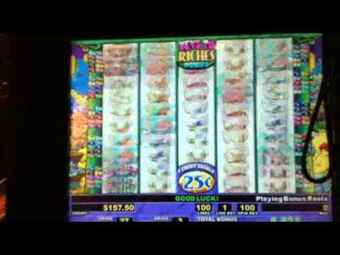 Stinkin' Rich 25 cent denom (L'Auberge high limit area)