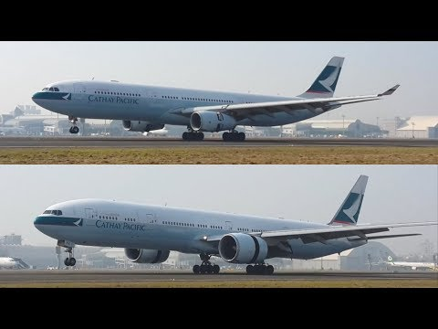 Cathay Pacific A330-300 VS. 777-300ER, Which One Do You Like?