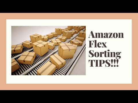 How To Organize And Sort Amazon Flex Packages