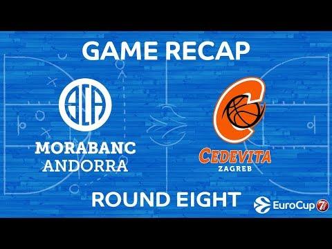 Highlights: MoraBanc Andorra - Cedevita Zagreb