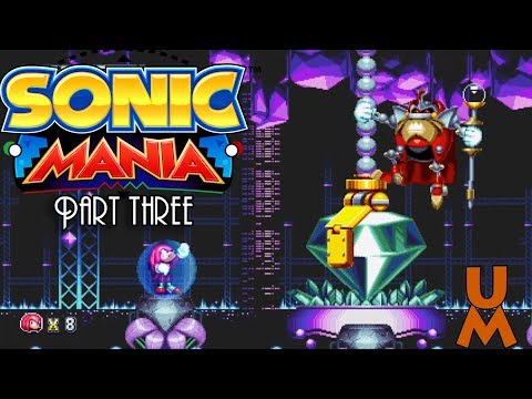 Sean GM || Sonic Mania Knuckles Run (Part 3 + Finale)