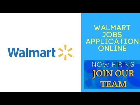Walmart Jobs Application Online-How To Apply To Walmart Online