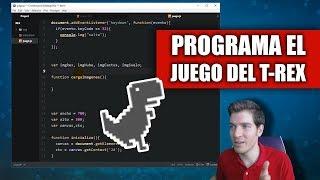 Cómo Programar el Juego 🎮 del T-Rex de Chrome Con HTML5