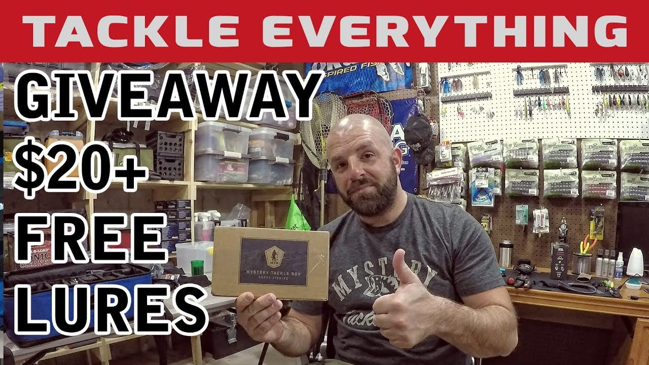 FREE TACKLE GIVEAWAY