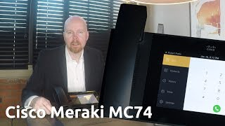 Unboxing the Cisco Meraki MC74 Cloud Managed IP Phone   Is This the Future of Business Phones?