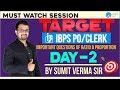 IBPS PO | Important Questions of Ratio & Proportion Target IBPS Day-2| By Sumit Sir | 12 P.M