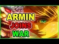 ARMIN RETURNS! LEVI Vs Beast Titan Assault! Attack on Titan Chapter 103 Shingeki no Kyojin 103 進撃の巨人