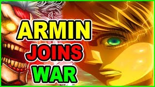 Скачать ARMIN RETURNS LEVI Vs Beast Titan Assault Attack On Titan Chapter 103 Shingeki No Kyojin 103 進撃の巨人