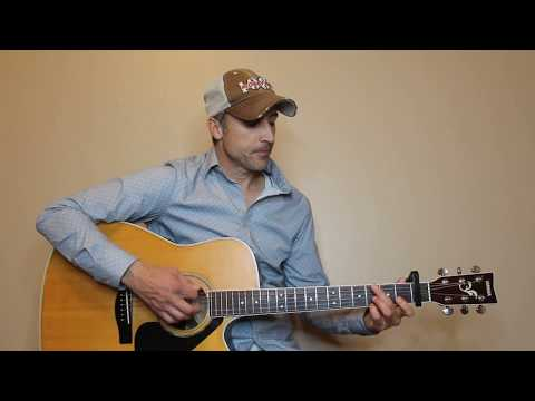 I Cross My Heart - George Strait - EASY Guitar Lesson   Tutorial