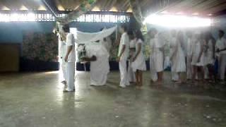 Apresentação dos alunos do CEM 09 de Ceilândia/DF (Procissão pra Oxalá)