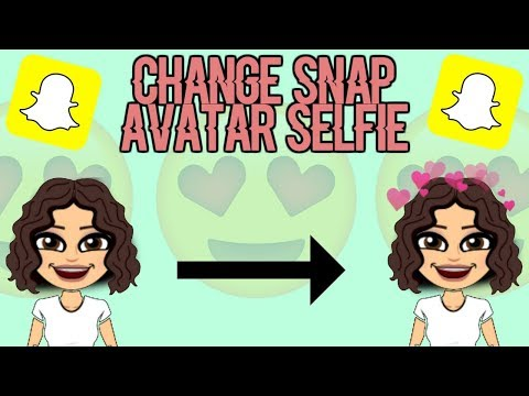 How To Change Your Avatar Selfie On Snapchat |Crystal Burguan|
