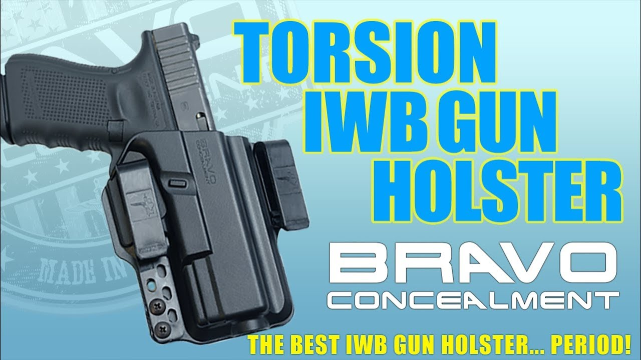 Torsion IWB Kydex Gun Holster + Free Mag Pouch – Bravo