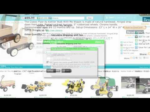 Shop.com Comparison Shopping Portal Overview - Cashback