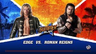 WWE 2K15- Roman Reigns vs Edge Normal Match 2015 (PS4)