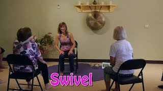 Low Back Stretches: The Twizzle and the Swivel with Sherry Zak Morris