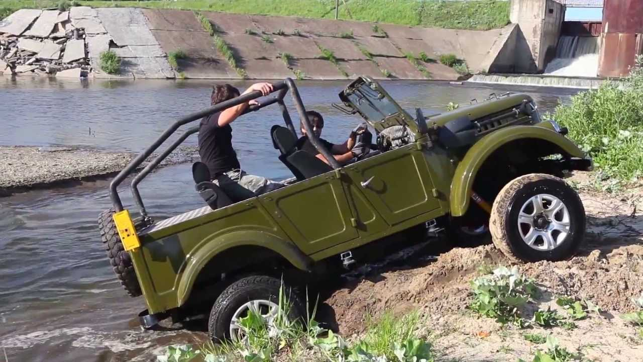 Газ 69 vs рама уаз 452 часть 2 / GAZ 69 vs frame UAZ 452 part 2 .