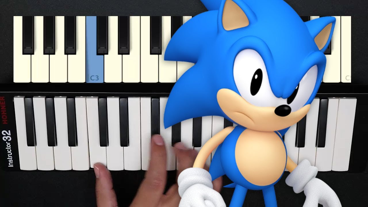 Sonic The Hedgehog OST / Green Hill Zone / Melodica Tutorial