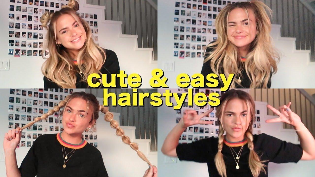 Cute Easy Summer Hairstyles 63