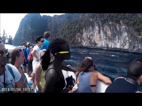 PHUKET TO PHI PHI ISLAND ON FERRY (IT'S A SAFE JOURNEY)