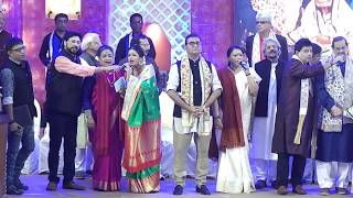 Bengali Artists singing in Honour of living legend Sandhya Mukhopadhyay