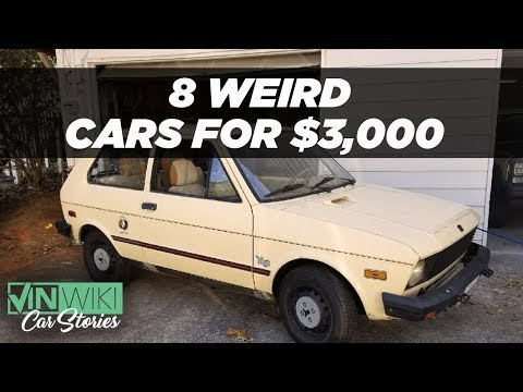 The strangest 8 car collection for $3k