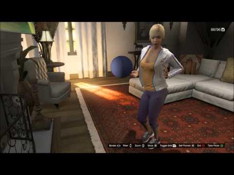 Grand Theft Auto V - Tracys Sexy Twerk Dance - YouTube