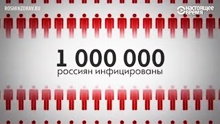 в России эпидемия СПИДа: вирус – у каждого сотого жителя страны