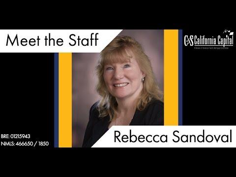 Meet the Team: Rebecca Sandoval