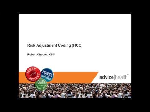 Advize Health - Risk Adjustment Coding Webinar