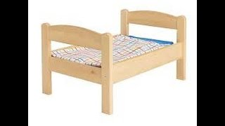 Duktig Doll Bed From Ikea