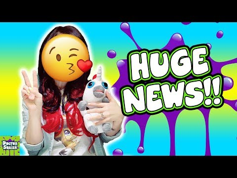 HUGE NEWS About My Channel! Doctor Squish