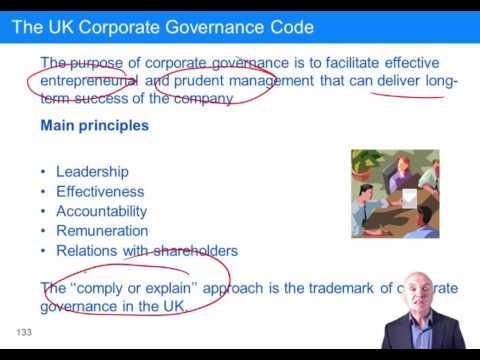 CIMA P3 Corporate governance