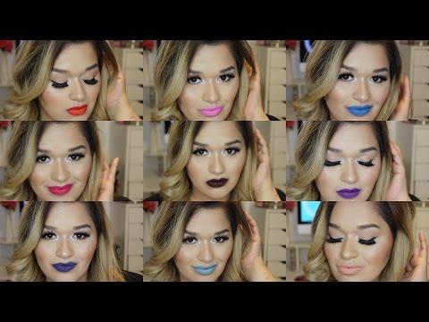 BROADWAY COLORS True Matte Lipsticks + Lip Swatches