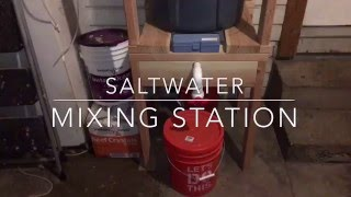how to build a saltwater mixing station videourl de