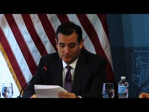 Ted Cruz: Nuclear Iran greatest national security threat to US