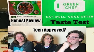♡GREEN CHEF REVIEW & TASTE TEST! (UNSPONSORED)