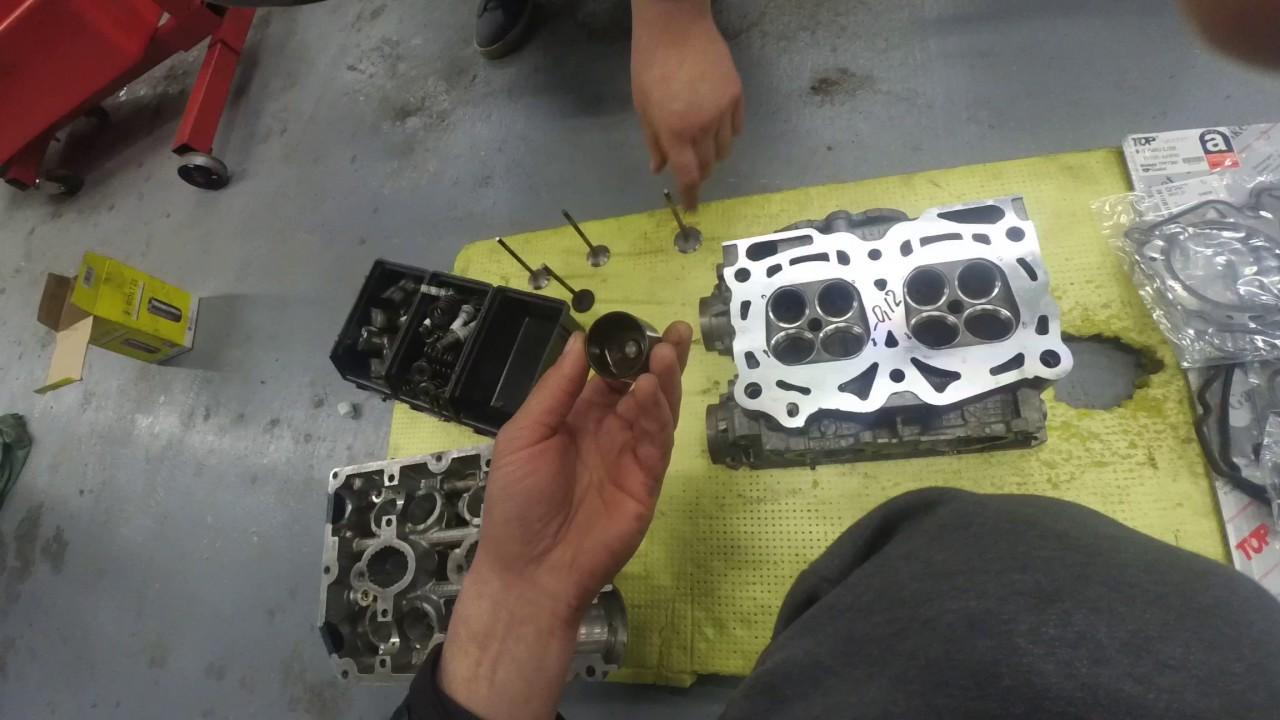ГБЦ SUBARU правильный ремонт