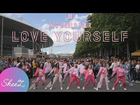 [KPOP IN PUBLIC PARIS/WORLD TOUR] BTS (방탄소년단) - Boy With Luv (작은 것들을 위한 시) Dance Cover