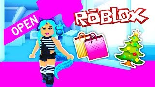 I OPENED MY OWN STORE!🎄 Roblox Grotty's Creator Mall 🎄 Roblox Robux Shopping Spree Roblox Roleplay