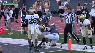 EMU Football Highlights vs. Army West Point (Sept. 26, 2015)