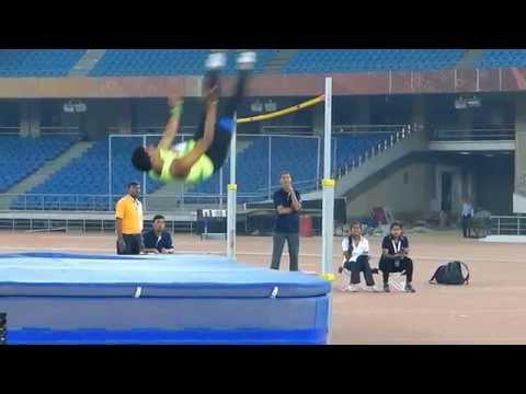 . Men's High Jump Final .National Sr. Open Athletics Championships-2014. New Delhi