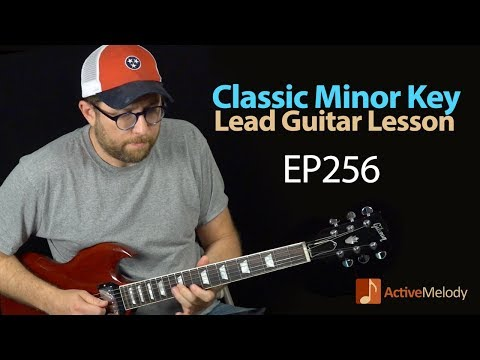 Learn a classic Minor Key Blues Lead in this Guitar Lesson  Blues Guitar Lesson  EP256