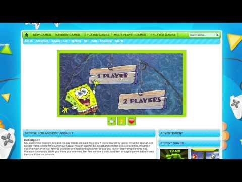 Spongebob Anchovy Assault Review (2pg.com)