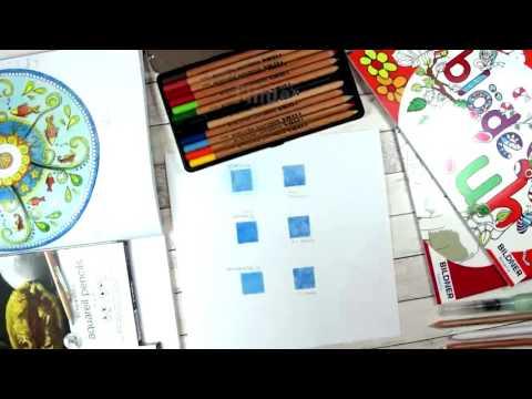 Farben verblenden mit Farbstiften (Tipps und Tutorials)