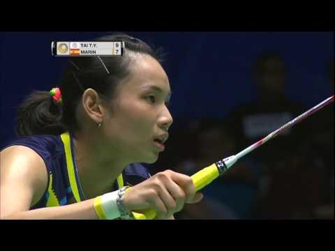 Celcom Axiata Malaysia Open 2017 | Badminton F M2-WS | Tai Tzu Ying vs Carolina Marin