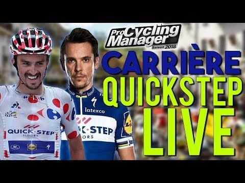 LIVE PRO CYCLING MANAGER 2018 - DÉBUT DE LA CARRIÈRE AVEC LA QUICKSTEP !! !ConcoursJaune - LIVE PRO CYCLING MANAGER 2018 - DÉBUT DE LA CARRIÈRE AVEC LA QUICKSTEP !! !ConcoursJaune